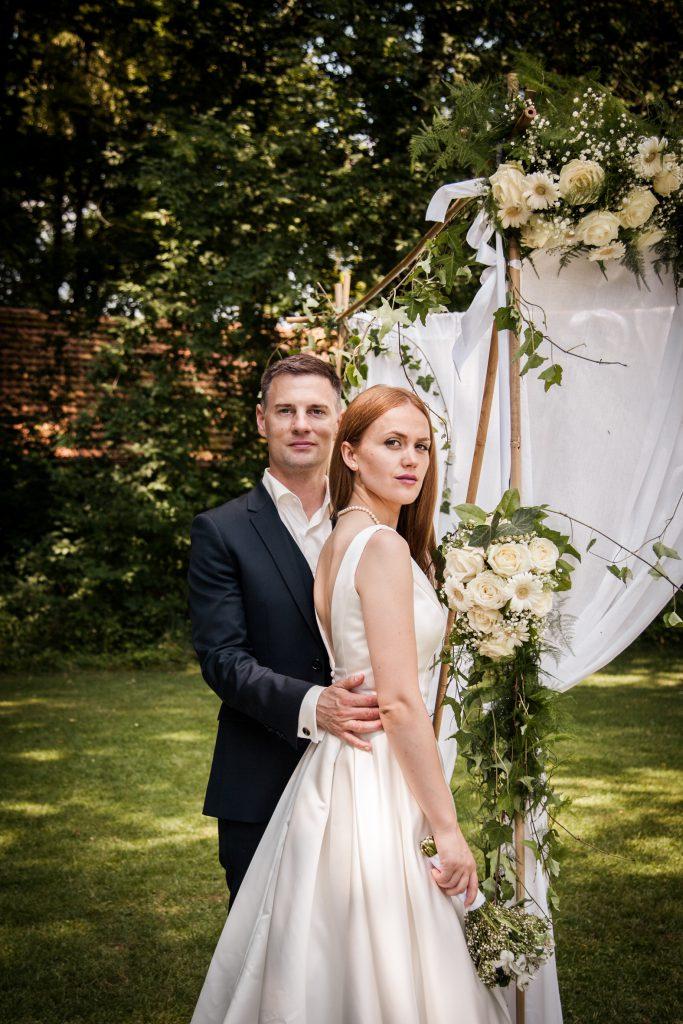 Lirije Thomas Hochzeit Portrait